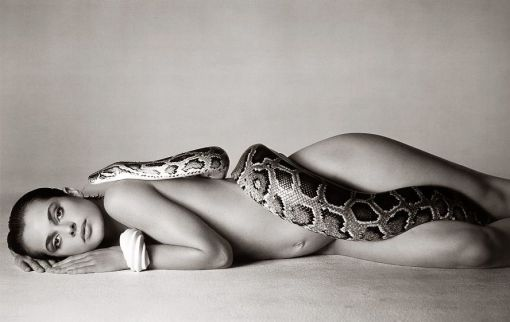 Nastassja Kinksy and the serpent, Los Angeles, California, June 1981