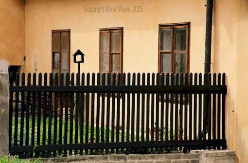 black-picket-fence